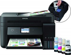imprimante sans cartouche 9. Epson EcoTank ET-4750 MFP avis